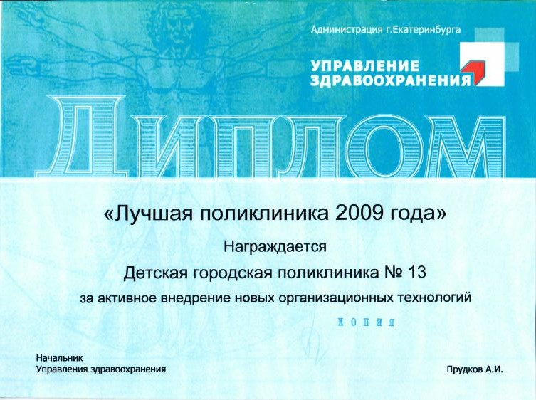 Диплом 2009